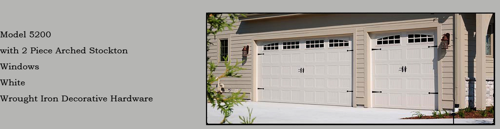 Canadian Garage Door Guys Stamped Steel Carriage House Collection