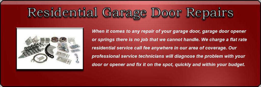 Canadian Garage Door Guys Residential Garage Door Repairs
